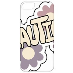 Beautiful Floral Art Apple Iphone 5 Classic Hardshell Case by Colorfulart23