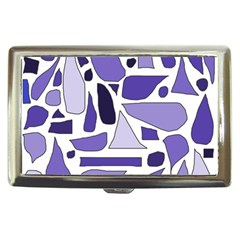 Silly Purples Cigarette Money Case by FunWithFibro