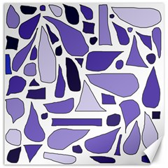 Silly Purples Canvas 20  X 20  (unframed) by FunWithFibro