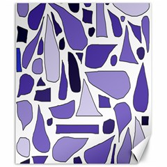 Silly Purples Canvas 20  X 24  (unframed) by FunWithFibro
