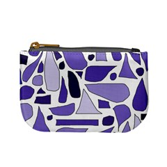 Silly Purples Coin Change Purse by FunWithFibro