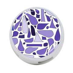 Silly Purples 4 Port Usb Hub (two Sides) by FunWithFibro