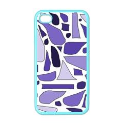 Silly Purples Apple Iphone 4 Case (color) by FunWithFibro