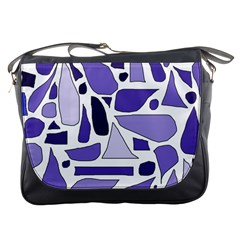 Silly Purples Messenger Bag by FunWithFibro