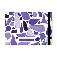 Silly Purples Apple Ipad Mini Flip Case by FunWithFibro