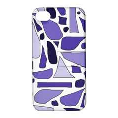 Silly Purples Apple Iphone 4/4s Hardshell Case With Stand by FunWithFibro