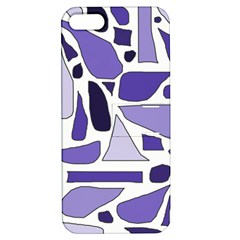 Silly Purples Apple Iphone 5 Hardshell Case With Stand by FunWithFibro