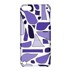 Silly Purples Apple Ipod Touch 5 Hardshell Case With Stand by FunWithFibro