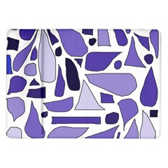 Silly Purples Samsung Galaxy Tab 10 1  P7500 Flip Case by FunWithFibro
