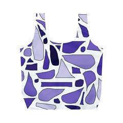 Silly Purples Reusable Bag (m) by FunWithFibro