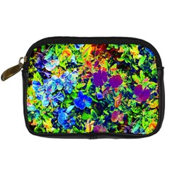 The Neon Garden Digital Camera Leather Case by rokinronda