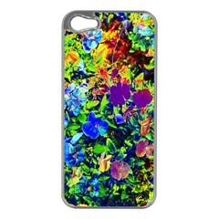 The Neon Garden Apple Iphone 5 Case (silver) by rokinronda