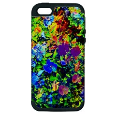 The Neon Garden Apple Iphone 5 Hardshell Case (pc+silicone) by rokinronda
