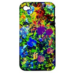 The Neon Garden Apple Iphone 4/4s Hardshell Case (pc+silicone) by rokinronda