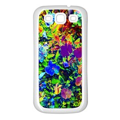 The Neon Garden Samsung Galaxy S3 Back Case (white) by rokinronda