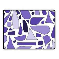 Silly Purples Fleece Blanket (Small) by FunWithFibro