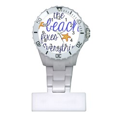 The Beach Fixes Everything Nurses Watch by OneStopGiftShop