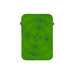 Go Green Kaleidoscope Apple Ipad Mini Protective Sleeve by Fractalsandkaleidoscopes
