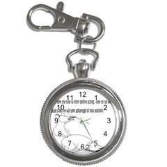 Better To Take Time To Think Key Chain Watch by Doudy
