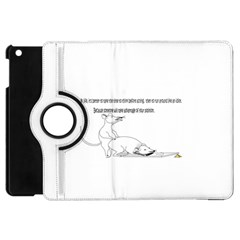 Better To Take Time To Think Apple Ipad Mini Flip 360 Case by Doudy