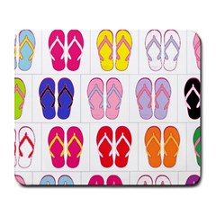 Flip Flop Collage Large Mouse Pad (rectangle) by StuffOrSomething