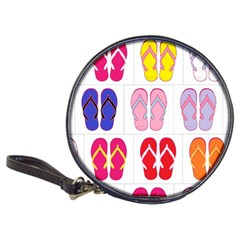 Flip Flop Collage Cd Wallet by StuffOrSomething