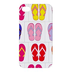 Flip Flop Collage Apple Iphone 4/4s Hardshell Case by StuffOrSomething