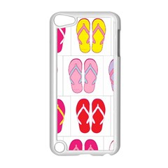 Flip Flop Collage Apple Ipod Touch 5 Case (white) by StuffOrSomething