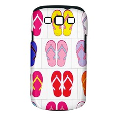 Flip Flop Collage Samsung Galaxy S III Classic Hardshell Case (PC+Silicone) by StuffOrSomething
