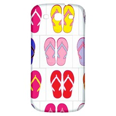 Flip Flop Collage Samsung Galaxy S3 S Iii Classic Hardshell Back Case by StuffOrSomething