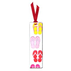 Flip Flop Collage Small Bookmark by StuffOrSomething