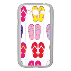 Flip Flop Collage Samsung Galaxy Grand Duos I9082 Case (white) by StuffOrSomething