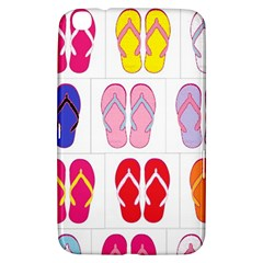 Flip Flop Collage Samsung Galaxy Tab 3 (8 ) T3100 Hardshell Case  by StuffOrSomething