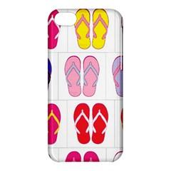 Flip Flop Collage Apple Iphone 5c Hardshell Case by StuffOrSomething