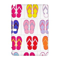 Flip Flop Collage Samsung Galaxy Note 10 1 (p600) Hardshell Case by StuffOrSomething