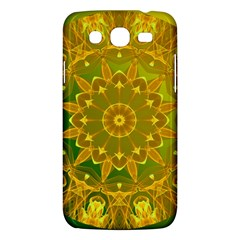 Yellow Green Abstract Wheel Of Fire Samsung Galaxy Mega 5 8 I9152 Hardshell Case  by DianeClancy