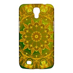 Yellow Green Abstract Wheel Of Fire Samsung Galaxy Mega 6 3  I9200 Hardshell Case