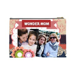 Mothers Day By Mom   Cosmetic Bag (large)   Beq3pxmr3fks   Www Artscow Com Back