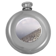 Banff Hip Flask (Round)