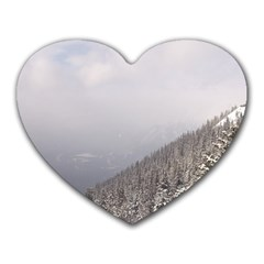 Banff Mouse Pad (heart) by DmitrysTravels