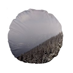 Banff 15  Premium Round Cushion  by DmitrysTravels