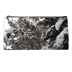 Snowy Trees Pencil Case by DmitrysTravels