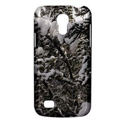 Snowy Trees Samsung Galaxy S4 Mini (gt I9190) Hardshell Case  by DmitrysTravels