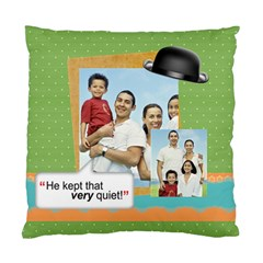 Father s Day By Dad   Standard Cushion Case (two Sides)   39w2t55ttbur   Www Artscow Com Front