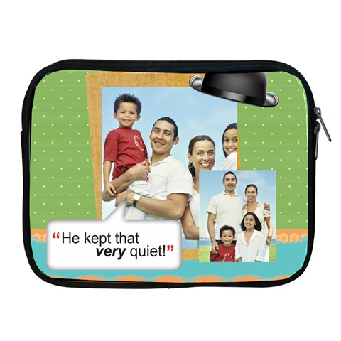 Fathers Day By Dad   Apple Ipad Zipper Case   Xw98fulgg0oj   Www Artscow Com Front