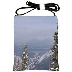 Trees Shoulder Sling Bag by DmitrysTravels