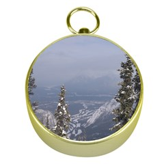 Trees Gold Compass