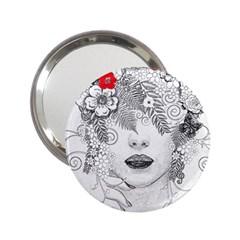 Flower Child Handbag Mirror (2 25 ) by StuffOrSomething