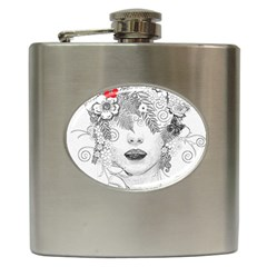 Flower Child Hip Flask by StuffOrSomething