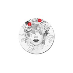 Flower Child Golf Ball Marker by StuffOrSomething